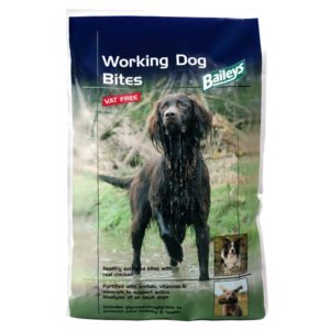 Baileys Working Dog Bites 1